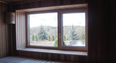 Нужно ли окно в парилке бани?