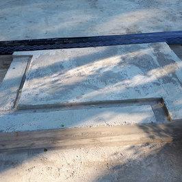 Сразу выполнен фундамент под банную печь.