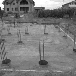 2 октября 2018   Подготовка площадки под заливку свай подбетонки