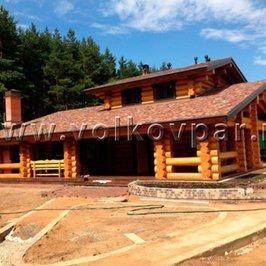 Завершено строительство банного дома