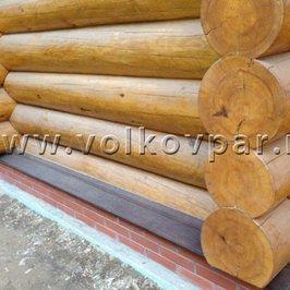 Изготовлены и установлены деревянные отливы