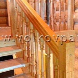 Завершен монтаж межэтажной лестницы