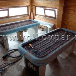 Изготавливаем столы для мыльного массажа с подогреваемой поверхностью