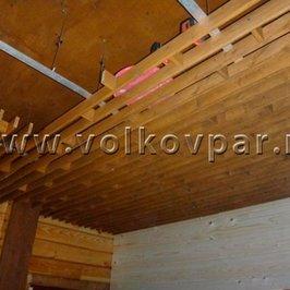 Монтируем декоративный подвесной реечный потолок