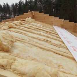 Утепление крыши второго уровня