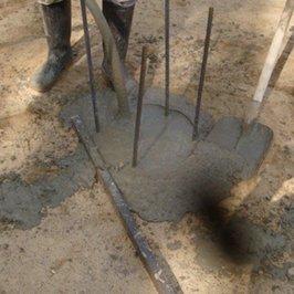 Вибрируем бетон