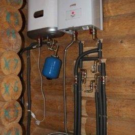 Установлены электрокотел и бойлер