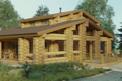 Банный дом с бильярдной