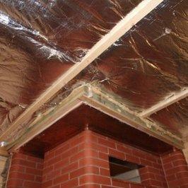 Утепление и пароизоляция потолка парилки