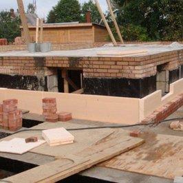 Завершены работы по устройству несущей конструкции цокольного этажа