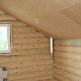 В доме смонтированы вентиляционные каналы