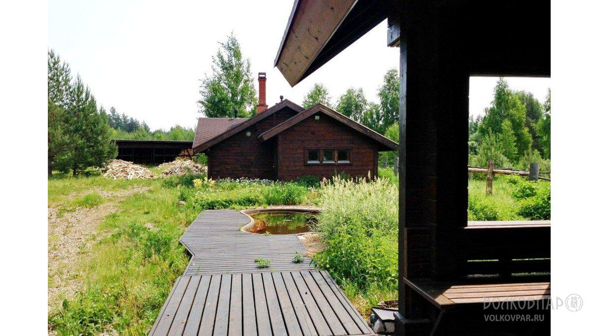 Гостевой домик. Две спальни, кухня-столовая и санузел с ванной
