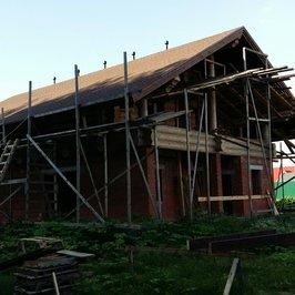 Завершены работы по устройству крыши и кровли