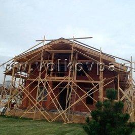 Завершены работы по устройству крыши