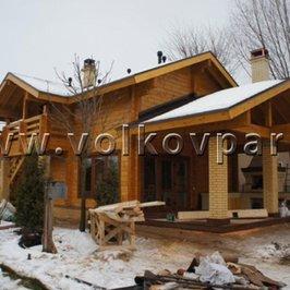 Работы по строительству банного дома близки к завершению