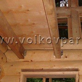 Установлены балки межэтажных перекрытий