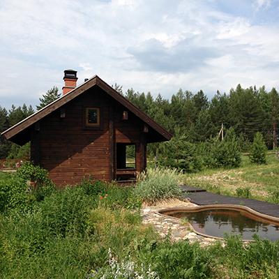 Выбор места под строительство бани