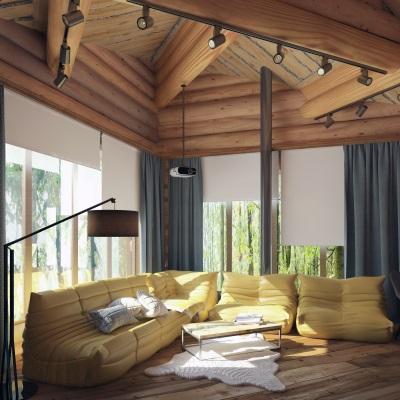 Альпийское шале: мода на простоту