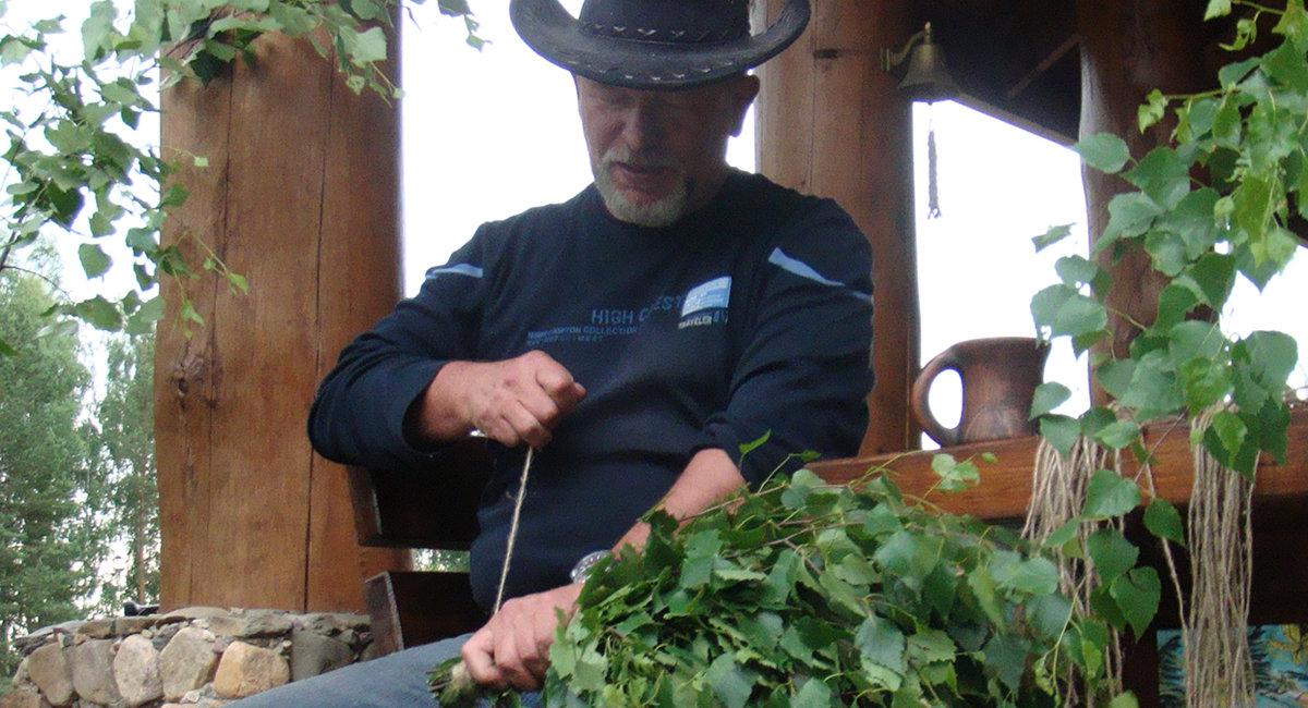 Как заготавливать и сушить веники для бани