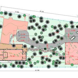 Завершены проектные работы по планировке и благоустройству участка