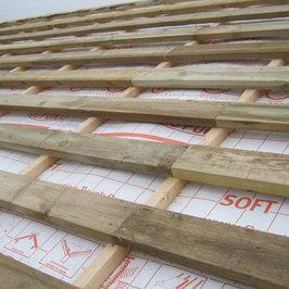 Фрагмент устройства крыши