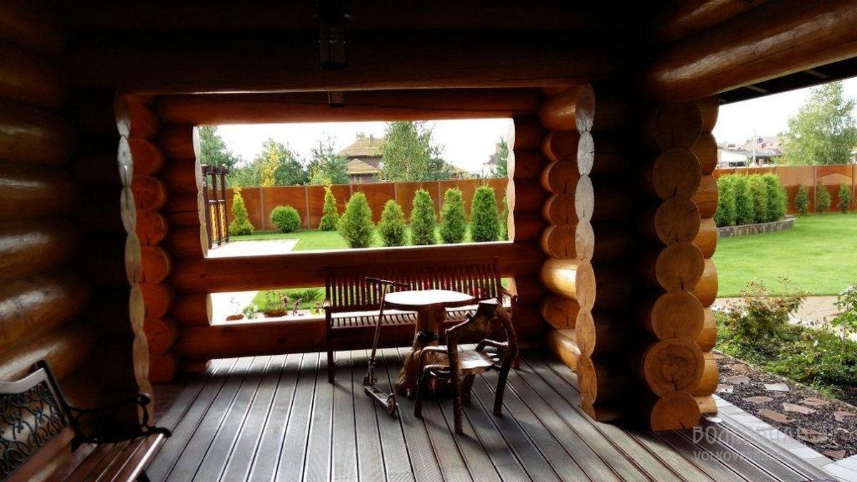 Открытая терраса - это самое лучшее место для отдыха на свежем воздухе