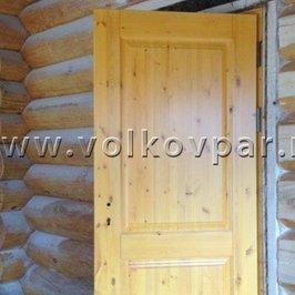 Установлены наружные двери
