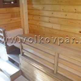 Изготовлен и установлен  подиум под сено в помещении сеновала