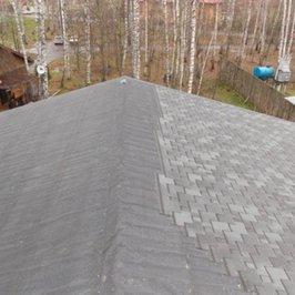 Конек средней крыши