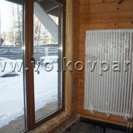 В помещениях первого этажа установлены радиаторы Arbonia