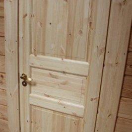 В доме установлены двери