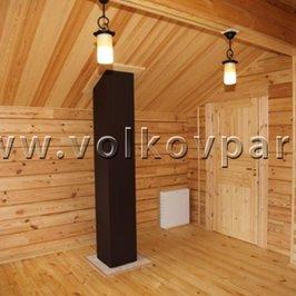 Внутренняя отделка близится к завершению. В доме установлены все межкомнатные двери, установлена обналичка окон и дверей