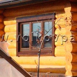 Установлены окна и завершена наружная отделка
