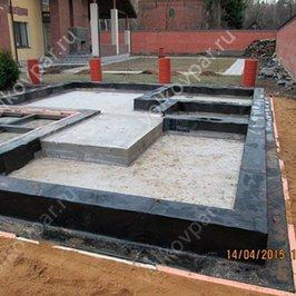 Фундамент готов к монтажу сруба