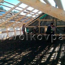 Выполняем бетонирование плиты