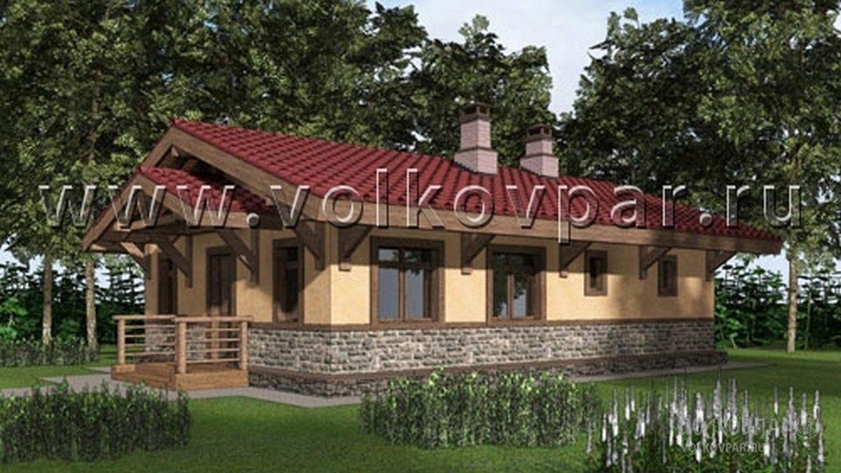 Баня из кирпича в Орехово-Зуево