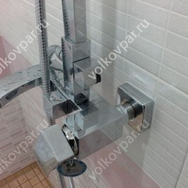 Установили душ