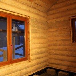 Окна комнаты отдыха