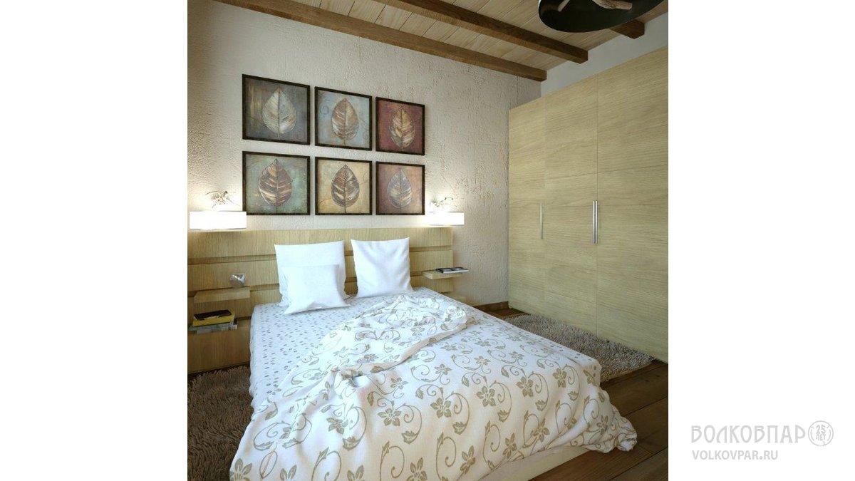 Спальня на 1-ом этаже
