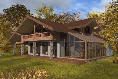 Дом ШАЛЕ с бассейном 389 кв.м.