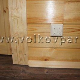 Смонтирован электрический теплый пол в санузле на втором этаже