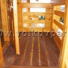Изготовлены и установлены ограждения балкона второго этажа